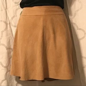 Joie Suede Mini Skirt Size 4